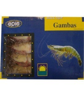 Gambas Black Tiger EPIC cuites 8-12