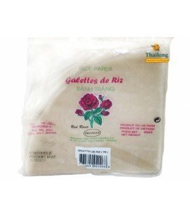 Galette de riz triangle RED ROSES