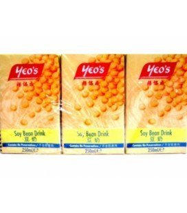 Lait soja pack 6x25 cl