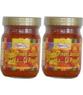 Pâte de piment antillais 120g