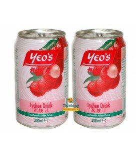 Boisson lychee 30 cl YEO'S