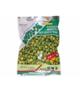 Crackers petits pois wasabi