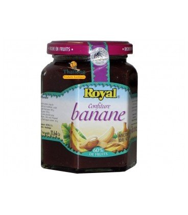 Confiture banane Royal 330 g